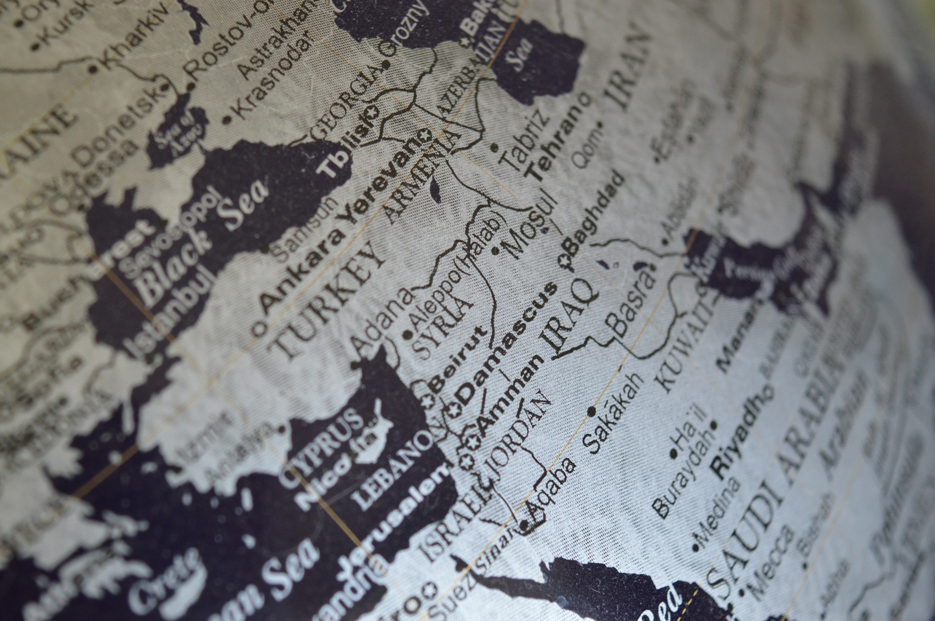 Syria Political Map