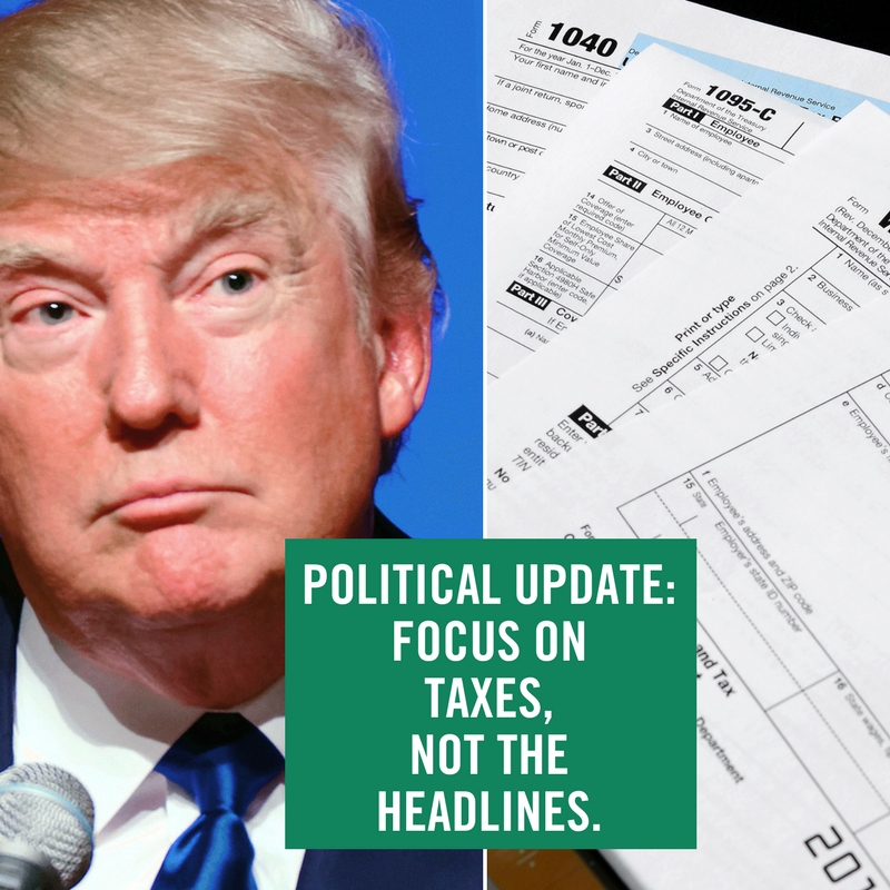 trump - political update, impeach or tax reform