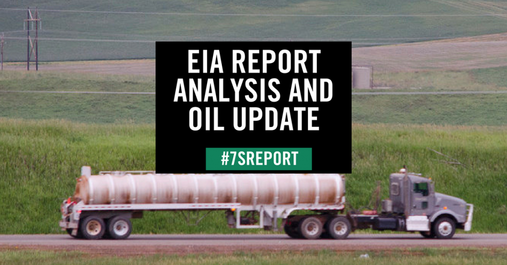 EIA Report Analysis and Oil Update