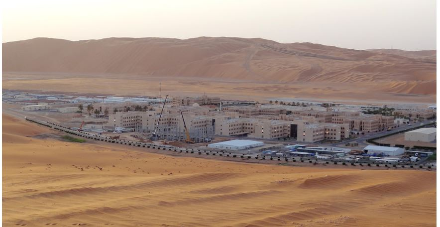 the base for Saudi Aramco's Natural Gas Liquids plant and oil production