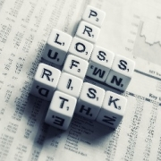 Profit loss scrabble pieces