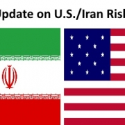 U.S./Iran Flags